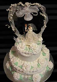 Specialty Wedding Cakes Need To Be Ordered In Advance As There Are Other Weddings Occurring All The Time Kristen From Kristin S Konfections